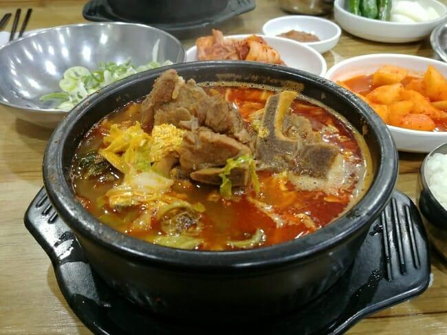 Haejangguk (hangover soup)