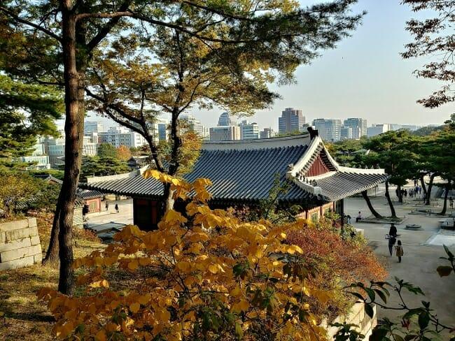 Changgyeonggung palace in Seoul