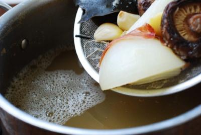 Mu Doenjang Guk (Korean Soybean Paste Radish Soup)
