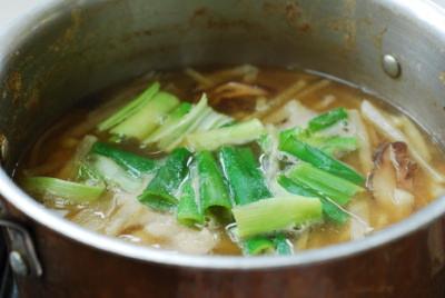 Mu Doenjang Guk (Soybean Paste Radish Soup)