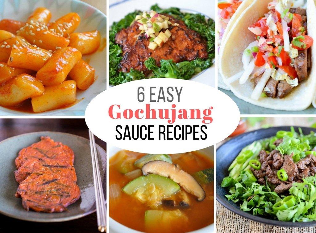 Gochujang Sauce Recipes