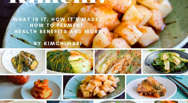 Photo collage of 13 different kimchi dish varieties (Guide 101)