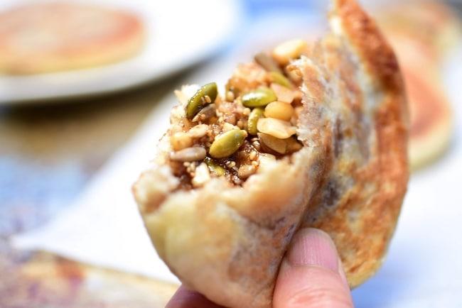Hotteok (Sweet Korean Pancakes)