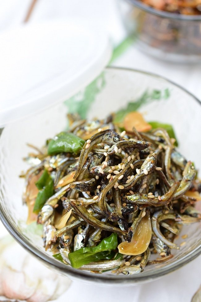 Stir-fried Dried Anchovies