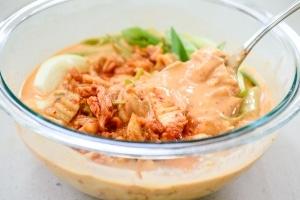 Kimchi pancake batter mix