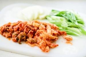 Kimchi pancake vegetable ingredients